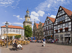 Rinteln - Marktplatz